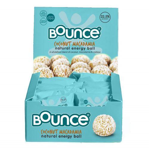 Coconut Macadamia Protein Energy Balls - 12 x 42g