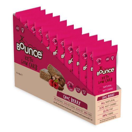 Keto Bar Choc Berry 35g 12 Pack
