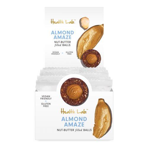Nut Butter Filled Ball Almond Amaze 40g 12 Pack