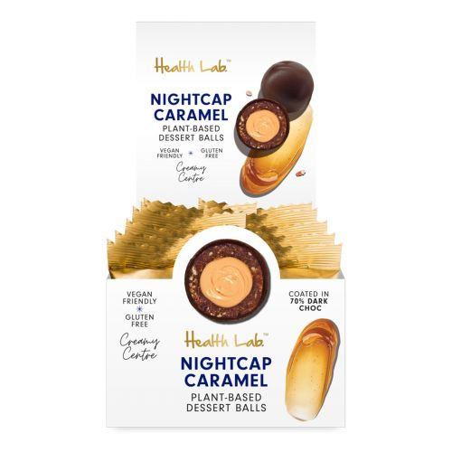 Raw Dessert Balls Caramel 30g 12 Pack