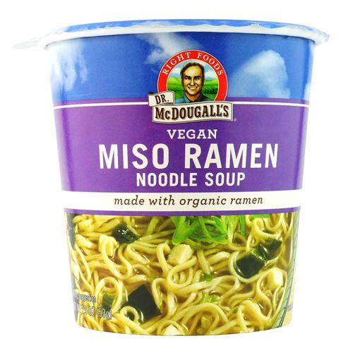 Vegan Big Cup Miso with Organic Noodles 54g