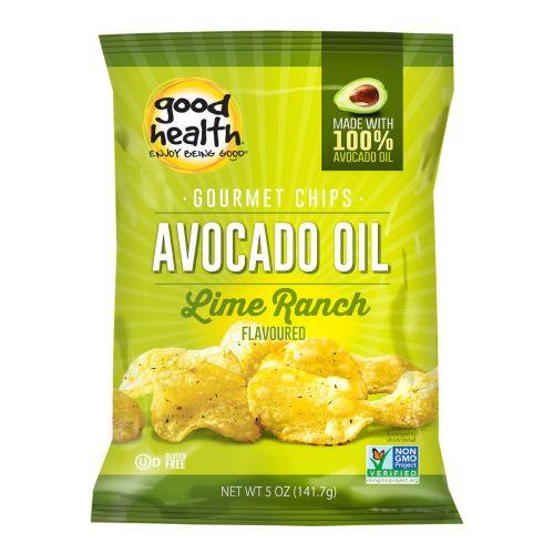 Avocado Oil Potato Chips Lime Ranch - 142g