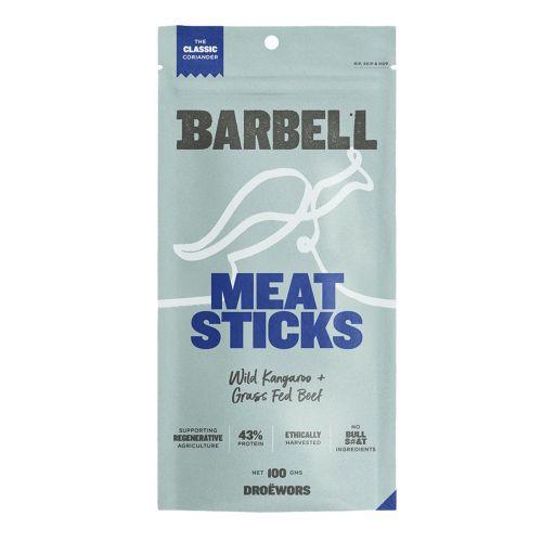 Wild Kangaroo & Grass Fed Beef Meat Sticks Coriander 100g