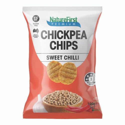 Chick Pea Sweet Chilli Chips - 100g