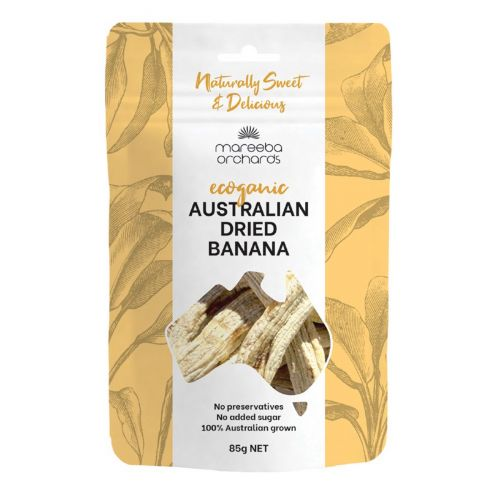 Australian Ecoganic Dried Banana 85g