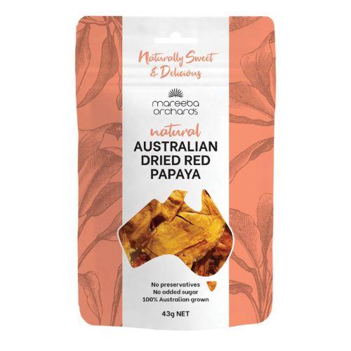 Australian Dried Papaya 43g