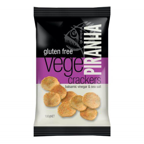 Vege Crackers Balsamic Vinegar - 100g