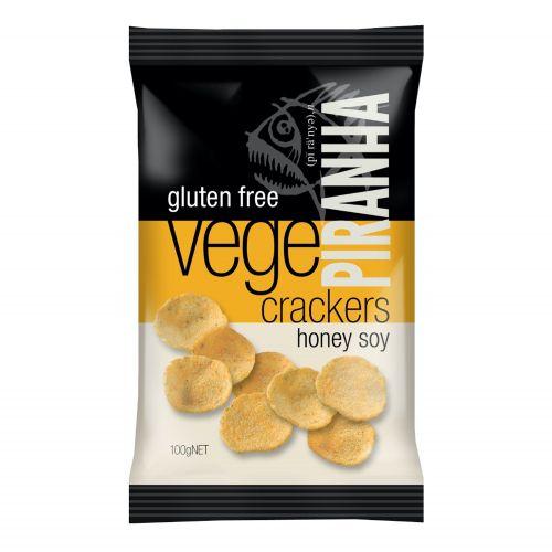 Vege Crackers Honey Soy - 100g