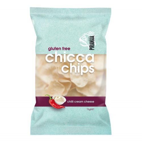 Chicca Chips Chilli Cream Cheese - 75g