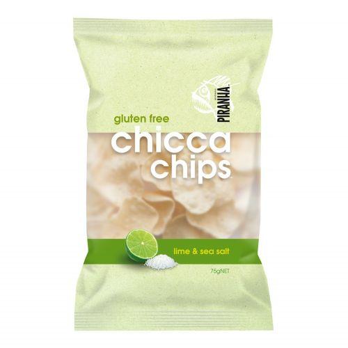 Chicca Chips Lime & Sea Salt - 75g
