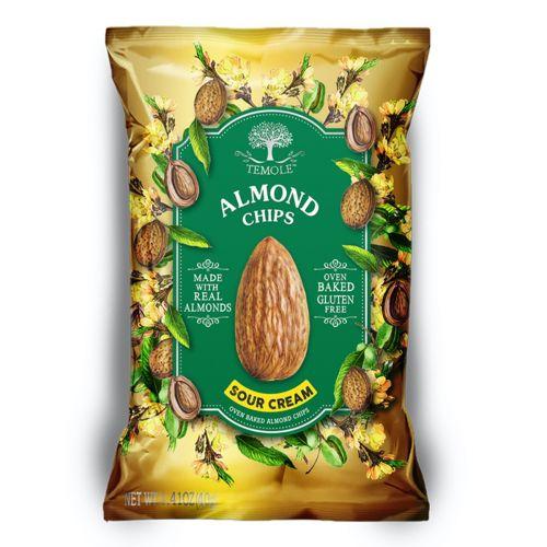 Almond Chips Sour Cream - 40g