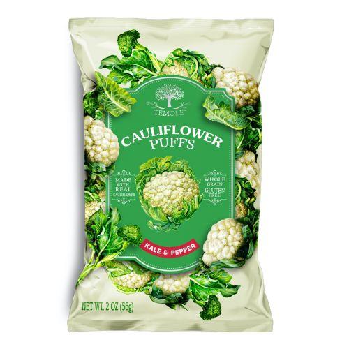 Cauliflower Puffs Kale Pepper - 56g
