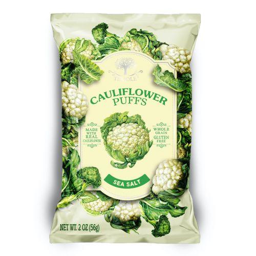 Cauliflower Puffs Sea Salt 56g - Best Before 25/12/21