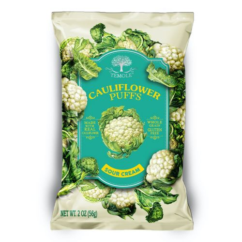 Cauliflower Puffs Sour Cream 56g