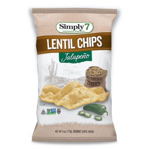 Jalapeno Lentil Chips - 113g