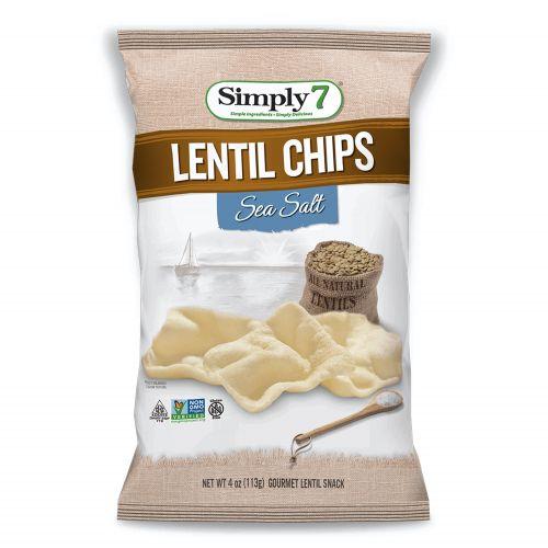 Sea Salt Lentil Chips - 113g