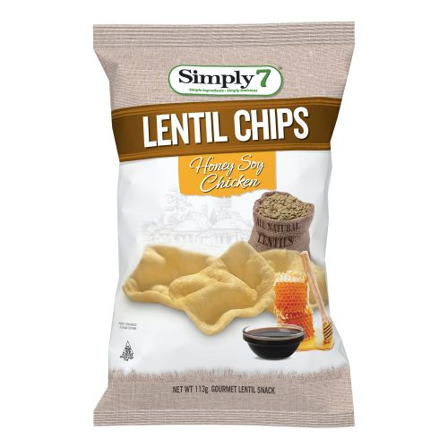 Honey Soy Chicken Lentil Chips - 113g