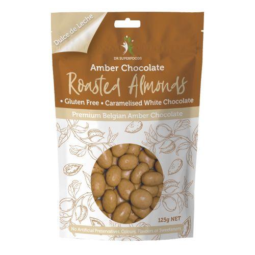 Amber Chocolate Roasted Almonds 125g