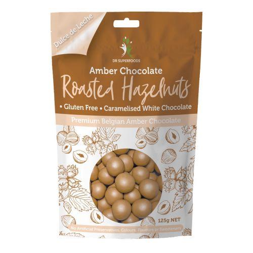 Amber Chocolate Roasted Hazelnut 125g