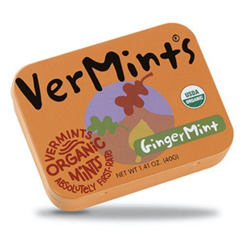 Organic Ginger Mints - 40g