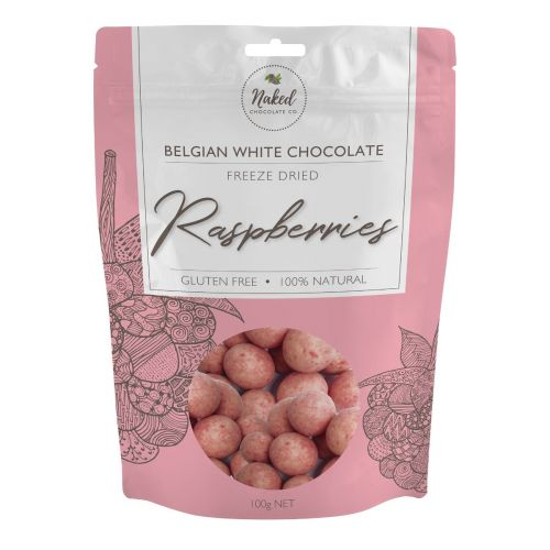 White Chocolate Freeze Dried Raspberry 100g