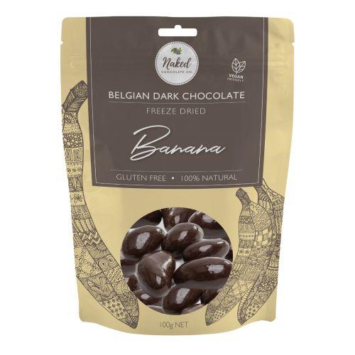 Dark Chocolate Freeze Dried Banana 100g
