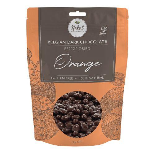 Dark Chocolate Freeze Dried Orange 100g
