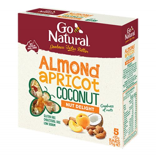 Almond Apricot & Coconut Bar - 5 x 35g Pack
