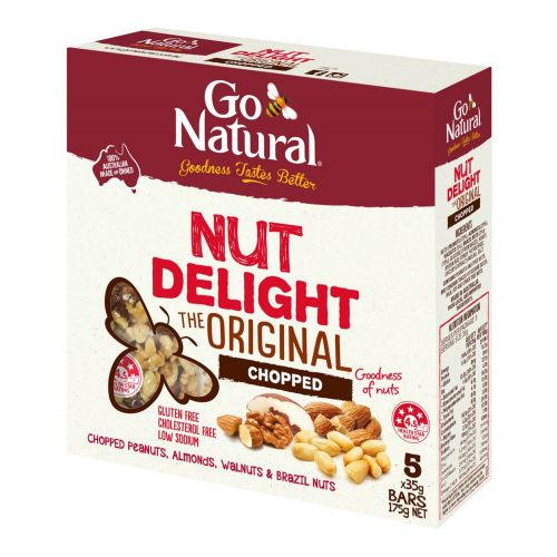 Go Natural Nut Delight Chopped 175g (5x35g)