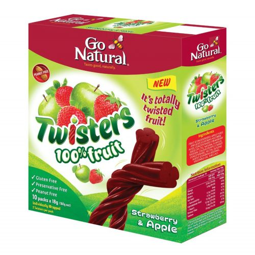 Strawberry & Apple Twisters - 180g