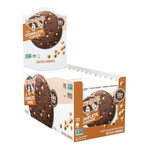 Complete Cookie Bar Salted Caramel - 12 x 113g