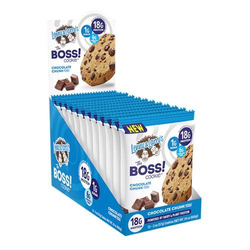 Boss Cookie Bar Chocolate Chunk 57g 12 Pack