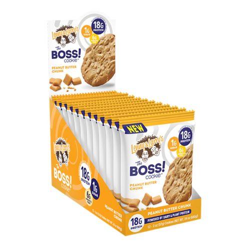 Boss Cookie Bar Peanut Butter 57g 12 Pack