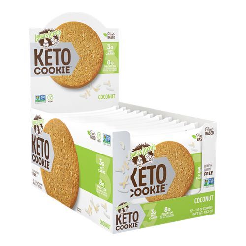 Keto Cookie Coconut 45g - 12 Pack