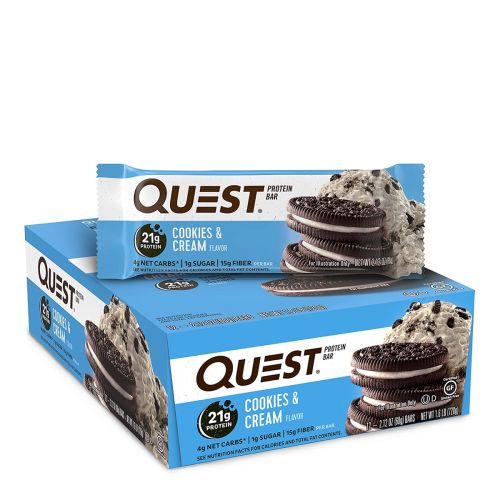 Protein Bar Cookies and Cream - 12 x 60g