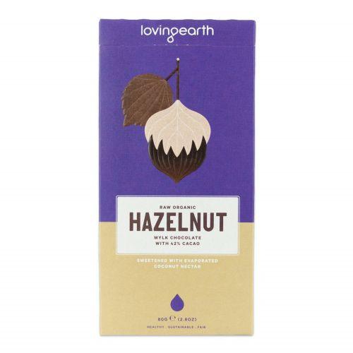 Hazelnut Milk Chocolate Bar - 80g