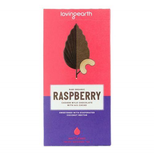 Raspberry Cashew Mylk Chocolate bar - 80g