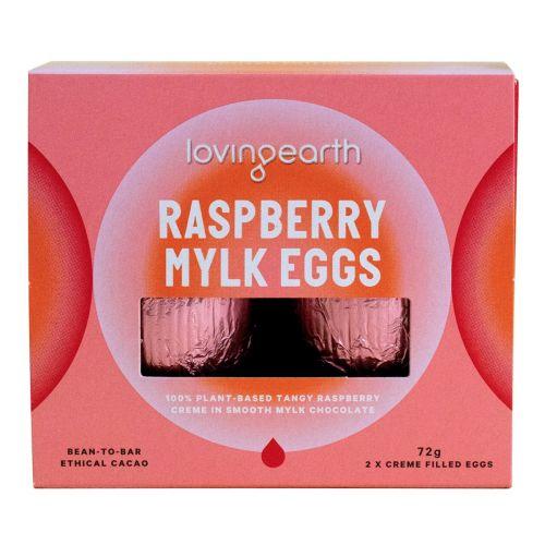 Raspberry Mylk Eggs 2 Pack 72g