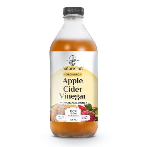 Organic Apple Cider Vinegar Honey 500ml