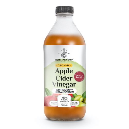 Organic Apple Cider Vinegar With Immunity Herbal Extracts 500ml