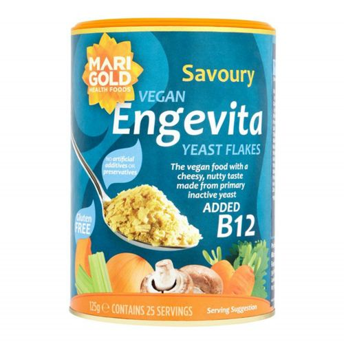 Engevita Yeast Flakes with B12 - 125g