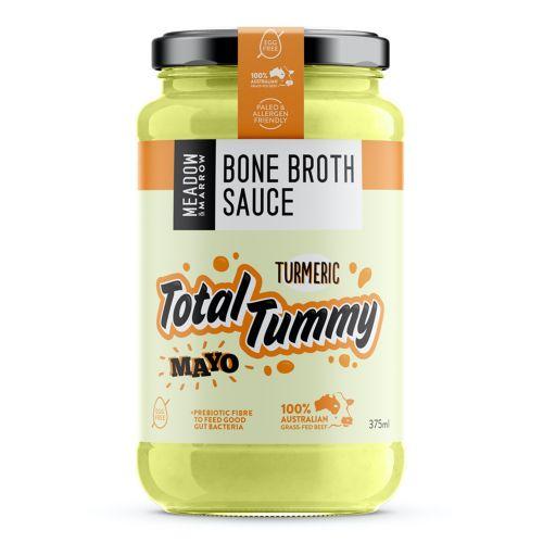 Total Tummy Turmeric Mayo Bone Broth Sauce - 375ml