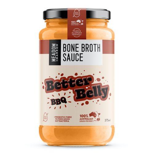 Better Belly BBQ Bone Broth Sauce - 375ml