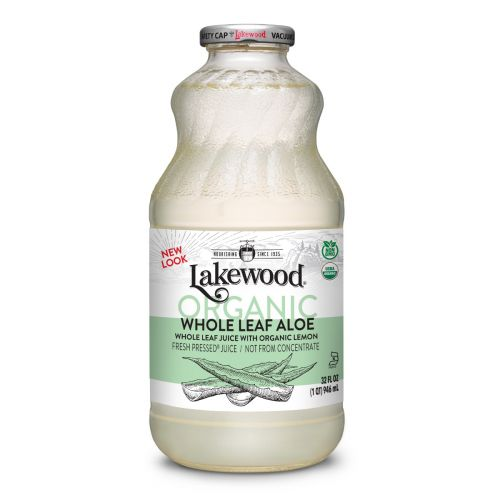 Organic Pure Aloe Vera Juice Whole Leaf - 946ml