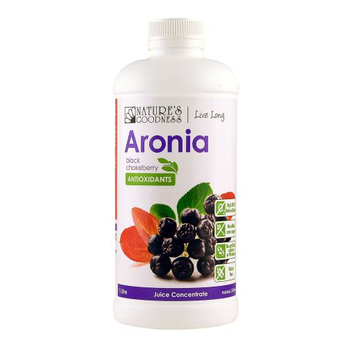 Aronia Black Chokeberry Juice Concentrate - 1L