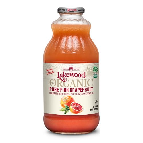 Organic Pink Grapefruit Juice - 946ml