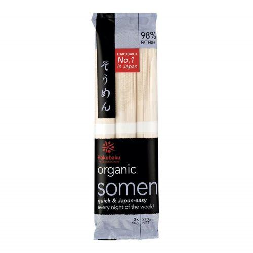 Organic Somen Japanese Noodles - 270g