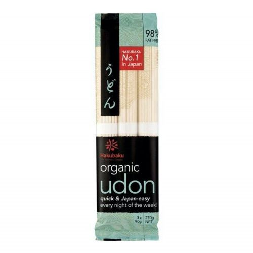 Organic Udon Japanese Noodles - 270g