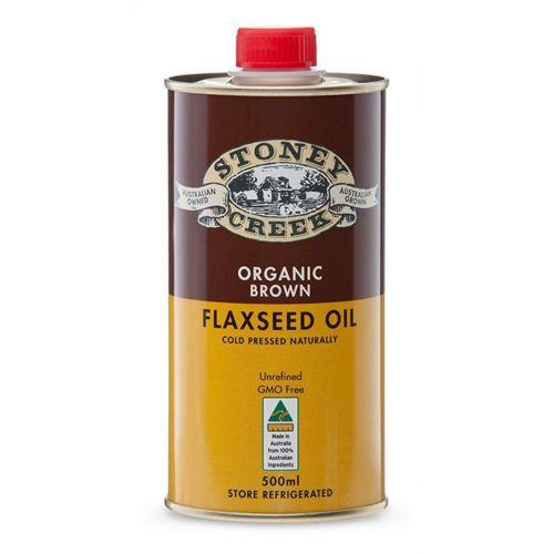 Organic Brown Flaxseed Oil 500ml