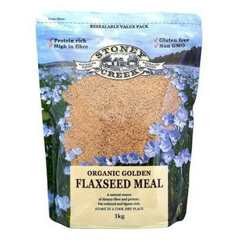 Organic Golden Flaxseed Meal 1kg